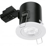 Aurora Enlite FD101W Fixed Fire-Rated Acoustic Downlight White