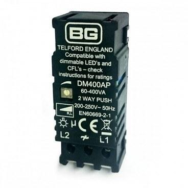 bg nexus dm400ap 05 led compatible dimmer module aw. Black Bedroom Furniture Sets. Home Design Ideas