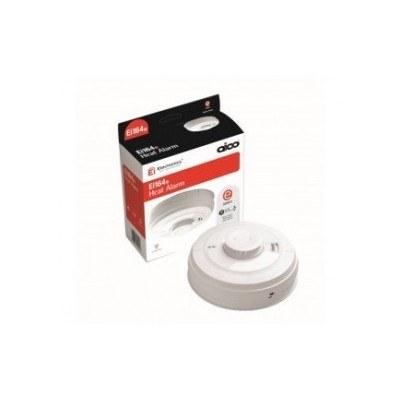 ico 160e series ei164e mains heat alarm radiolink for wireless interconnecti. Black Bedroom Furniture Sets. Home Design Ideas