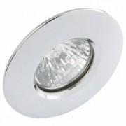 Aurora AU-DLM411PC IP65 Polished Chrome Die-Cast Aluminium Mains Voltage Fixed Showerlight