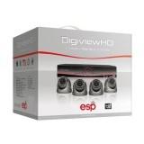 ESP HDV4KD 4 Channel HD CCTV System