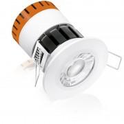 Aurora EN-DE8/30 Enlite 8w Fixed Dimmable Fire-Rated Downlight Warm White