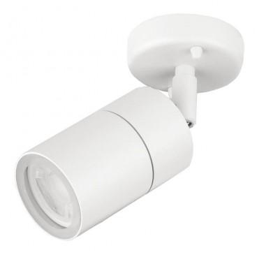 Enlite EN-WL1 White IP44 GU10 Adjustable Wall Light White