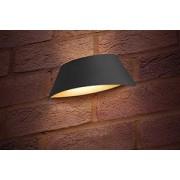 Integral ILDEA012 Wall Light VistaLux 300k LED IP65 400lm 9W (Dark Grey)