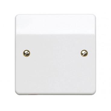MK K1090WHI Logic Plus Frontplate 1 Gang Flex Outlet 20A (White)