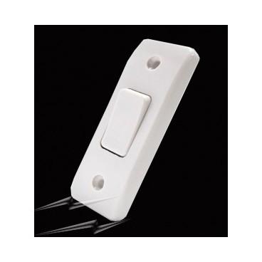 MK K4841WHI Logic Plus Switch 1 Gang 2 Way SP Architrave 10A (White)