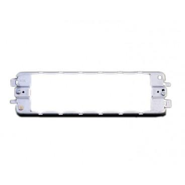 MK K3706 Grid Plus Frame 6 Gang Grid Mounting (Zinc)