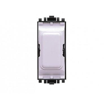 MK K4880WHI Grid Plus Insert 1 Module Blank (White)