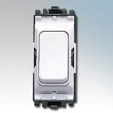 MK K4892WHI Grid Plus Grid Switch 2 Way SP 20A (White