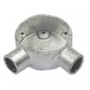 20G5 Circular Box Angle 20mm (Galvanised)