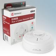 Aico EI3028 3000 Series White Multi-Sensor Heat & Carbon Monoxide Alarm