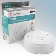 Aico EI3018 3000 Series White Carbon Monoxide Alarm