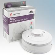 Aico EI3024 3000 Series White Multi-Sensor Optical & Heat Alarm