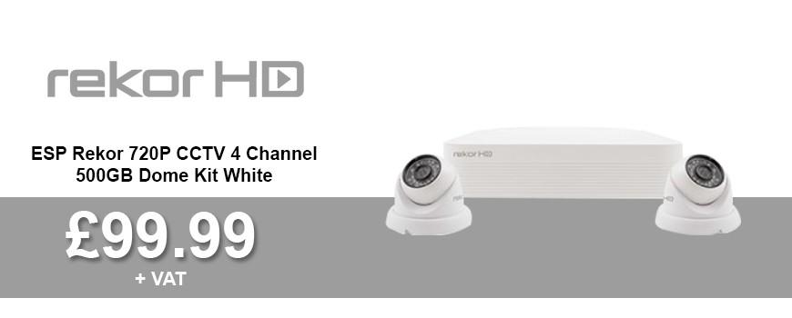 Rekor CCTV4 Kit